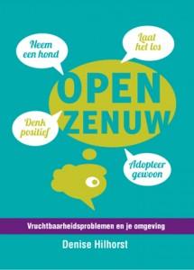 Kaft boek open zenuw vruchtbaarheidsproblemen en je omgeving